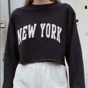 BRANDY MELVILLE J.Galt Lily New York Sweatshirt